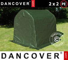 Portable garage PRO 2x2x2 m PE, Green