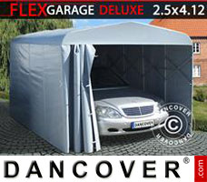 Portable garage Folding tunnel garage (Car), ECO, 2.5x4.12x2.15 m, Grey