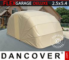 Portable garage Folding garage (Car), 2.5x5.4x2 m, Beige