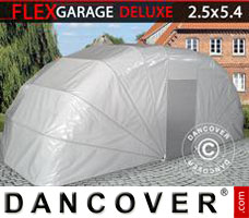 Portable garage Folding garage (Car), 2.5x5.4x2 m, Grey