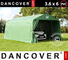 Portable garage PRO 3.6x6x2.68 m PVC, Green